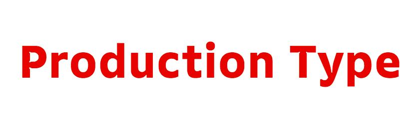 production type logo